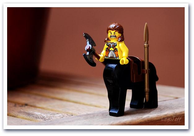 voici le petit custom de weekend un joli centaure lego